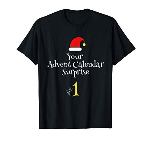 Calendario de Adviento Parejas Humor Camiseta