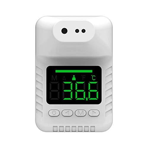 Weneye Wand-Körperthermometer, Thermometer Wand Montier, 0,5S Sofortige Induktion,Automatisches, Berührungsloses,Körpertemperaturmessgerät,für Büros, Restaurants