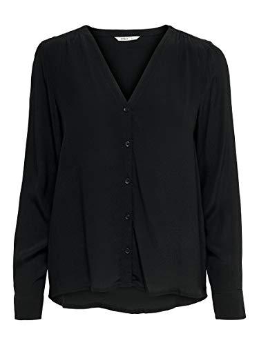 ONLY Female Hemd Einfarbiges 36Black