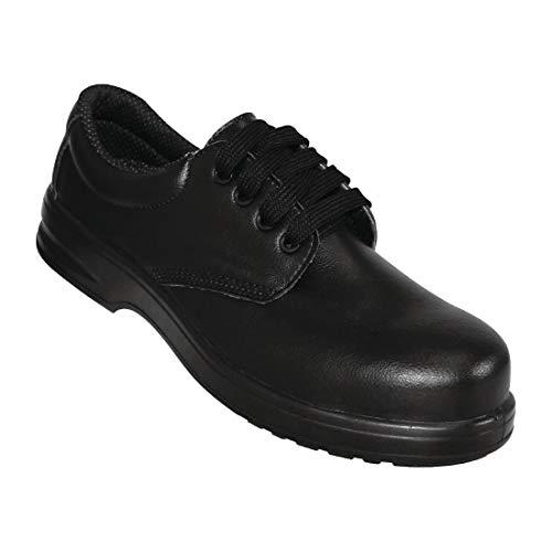 Lites Safety Footwear Lites Unisex Lace Up Safety Black - Size 42