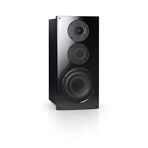 Nubert nuVero 60 Kompaktlautsprecher   High End Lautsprecher für Stereo   HiFi Qualität auf höchstem Niveau   Passive Kompaktbox mit 3 Wege Technik Made in Germany   Lowboardbox Schwarz   1 Stück