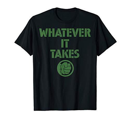 Marvel Avengers Endgame Whatever It Takes Hulk Logo T-Shirt