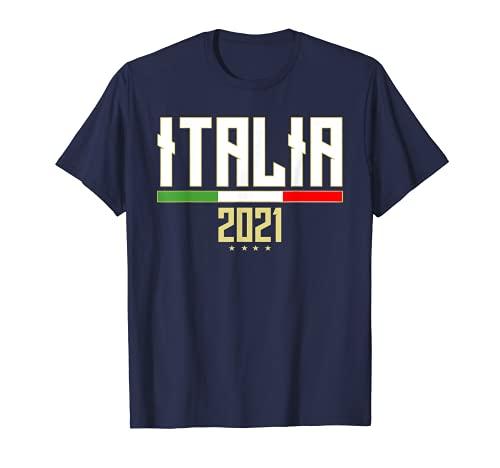 Italia 2021 Calcio italiani la bandiera Nazionale Italiana Maglietta