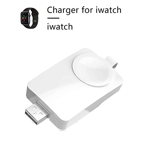 Cargador inalámbrico para Apple Watch, Cargador Plegable Tipo CestMall   Cargador rápido portátil USB magnético Mini Soporte de Carga para Apple Watch Series 4/3/2/1 44 mm 42 mm 40 mm 38 mm