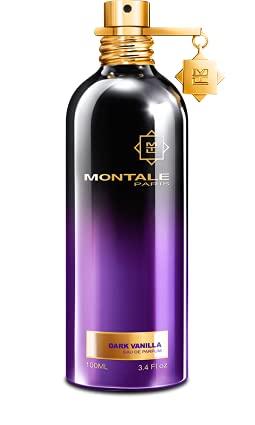 100% auténtico Eau de perfume de vainilla oscura de 100 ml fabricado en Francia + 2 muestras de Montale + 30 ml de cuidado de la piel