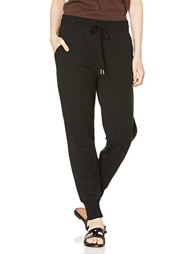 Daily Ritual Terry Cotton and Modal Jogger athletic-sweatpants, schwarz, L