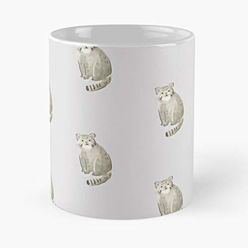 Pallas's Cat Classic Mug Best Gift Coffee Mugs 11 Oz