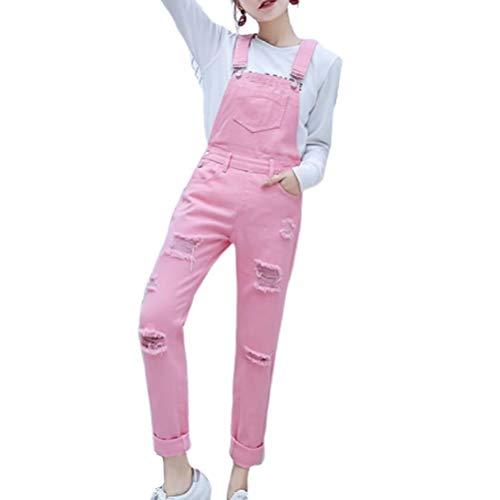Broeken Vrouwen Fashion Elegant Lente en zomer College Style Loose Fashionable Completi broek jeans met kleine voeten jumpsuit met Negen punten Koreaanse versie voor studenten.