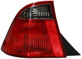 TYC 11-6094-01 Compatible with Ford Focus Driver Side Replacement Tail Light Assembly