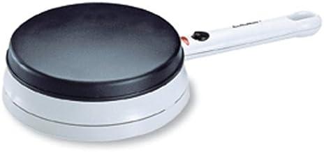 Cloer 677 Crêpe Maker – Cordless för lövtunna crêpes/700 W/bakyta med 18,5 cm diameter