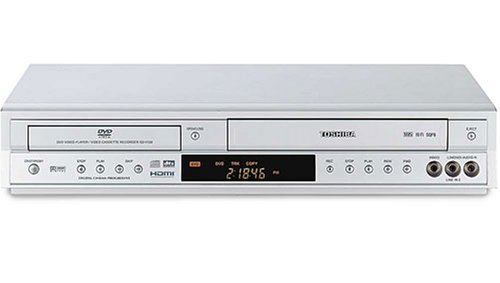 Toshiba Combo de DVD/VCR SD-V592 con conversión de vídeo 1080i