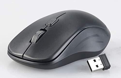 GeneralKeys Funktastatur: Ergonomische Funk-Tastatur-Maus-Kombination, 2,4 GHz, 10 m Reichweite (Funktastatur Maus Sets)