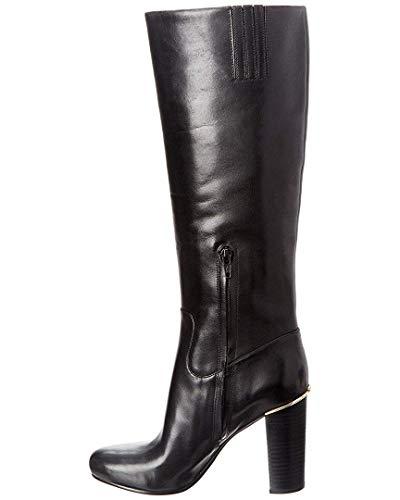 Michael Kors Damen Stiefel Schuhe Janice Boot Calf Leather 40F7JCHB5L Black Heel
