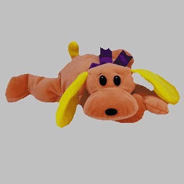 TY Pillow Pal WOOF The Dog Orange Version