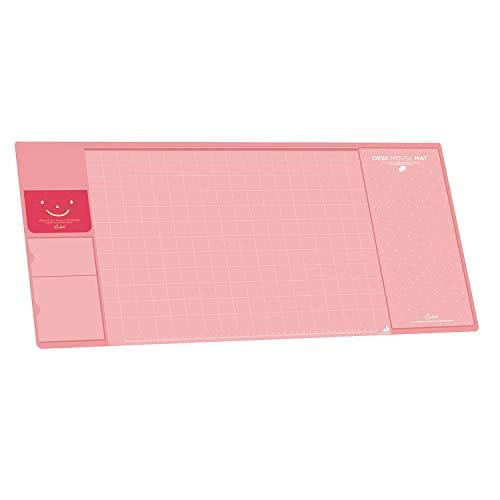 Befitery Schreibtischunterlage Multifunktions Schreibtisch Matte Pad Tischmatte kreativ Computer Laptop Mausunterlage Schreibunterlage (Rosa)