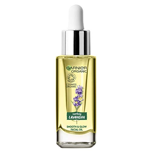 Garnier Organic Soothing Lavandin Glow Facial Oil for Healthy Smooth and Glowing Skin 30 ml