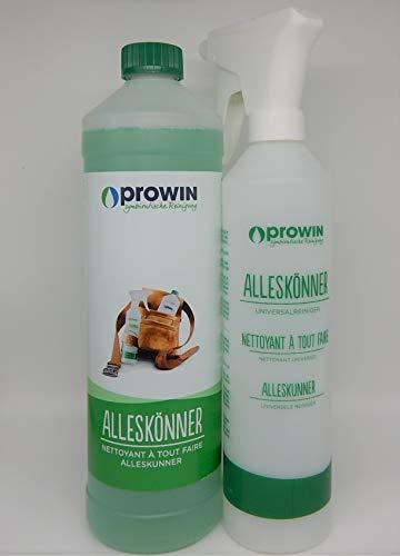 proWIN Set ALLESKÖNNER 1,0 L + ALLESKÖNNER Sprühflasche