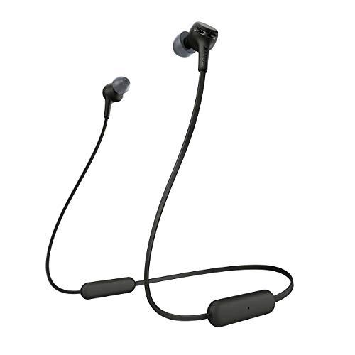 Sony Wi-XB400 Extra Bass Wireless In-Ear-Kopfhörer One Size Schwarz (Generalüberholt)