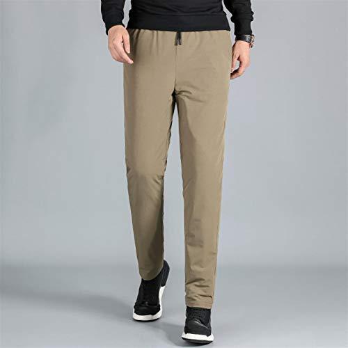 Pantalones abajo pantalones para hombres invierno protección fría y calor espesado grueso pantalón casual calor térmico calor caliente al aire libre transpirable impermeable impermeable a prueba de ag
