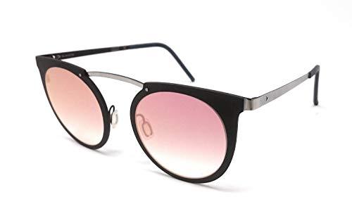 Gafas de sol de titanio para mujer Blackfin, BF 828, color plateado 886, marrón y plateado