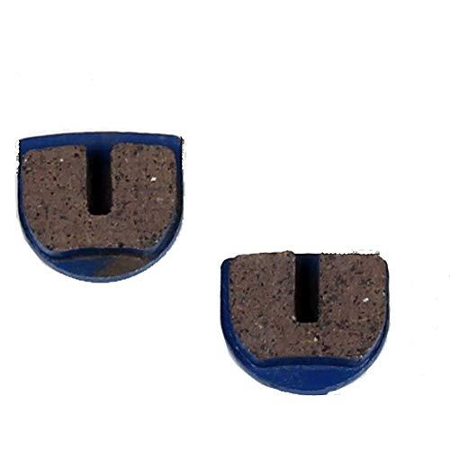Pastillas de freno para Mach1 E eléctrica o gasolina Scooter Pocket Bike (azul)