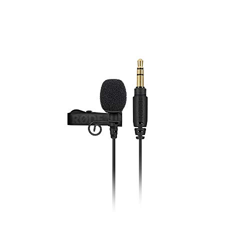 Rode Lavalier GO Professional-Grade Wearable Microphone, Black