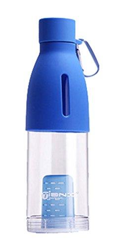 Creative Plastique Sports Cup/preuve fuites portables Coupe, bleu
