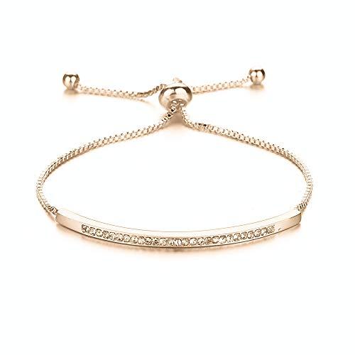 Verstellbares Armband mit Diamant