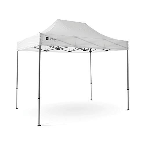 Grupo de carpa con apertura rápida de aluminio, 2 x 3 metros, cenador profesional para mercadillos y sabios