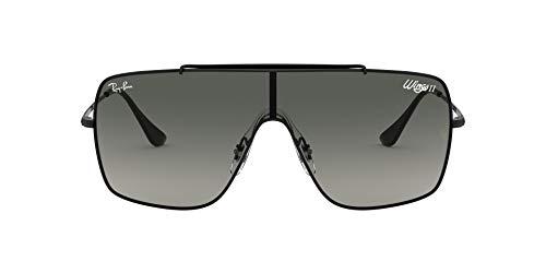 Ray-Ban 0RB3697 Gafas de sol, Black, 40 para Hombre