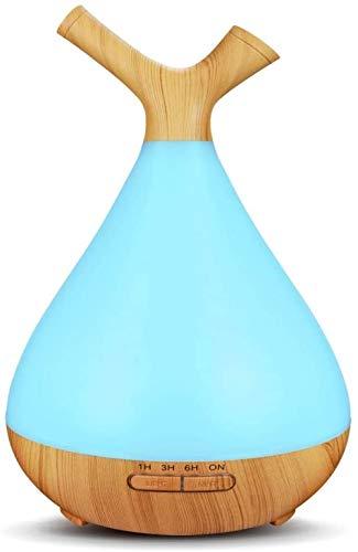 Difusor de aceite esencial Terapia de aroma ultrasónico Humidificador de niebla fría...