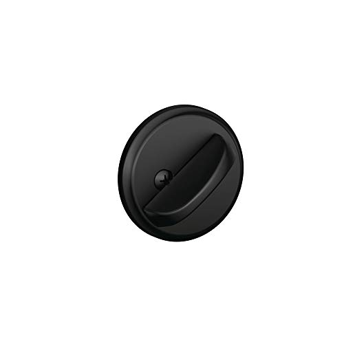 Schlage B80 Single Sided Residential Deadbolt with Thumbturn from The B-Series a, Matte Black