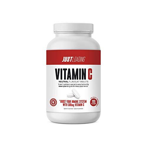 Just Loading - Vitamina C Pura 500 mg 120 Tabs - Sin gluten