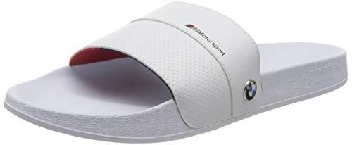PUMA BMW MMS Leadcat FTR, Zapatos de Playa y Piscina Unisex-Adulto, Blanco White White 02, 37 EU