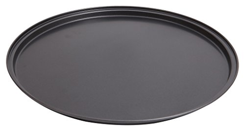 """Wee's Beyond 6852-C Non-Stick Easy Release Pizza Pan 13.5"""", Dark Gray"""