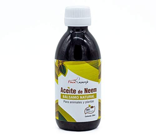 Aceite de Neem - Solución natural contra las plagas en las plantas y contra los parásitos externos en los animales (250ml)