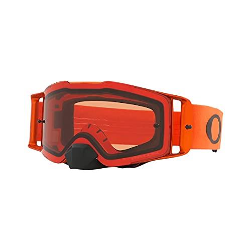 Oakley Front Line Moto MX Adult Off-Road Motorcycle Goggles - Orange/Prizm MX Bronze/One Size