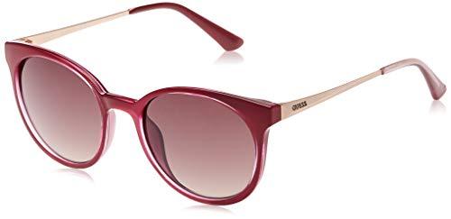 Guess GU7503 75F 52 Monturas de gafas, Rosa (Fucsia LucMarrone Grad), 52.0 Unisex Adulto