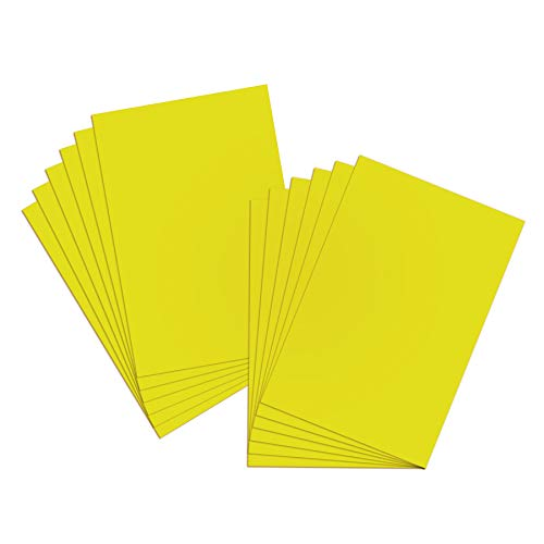BAZIC Poster Board Tellow 22' X 28', Colored Poster Board Paper, Bulk Boards for School Craft Project Presentation Drawing Graphic Display, 25-Pack