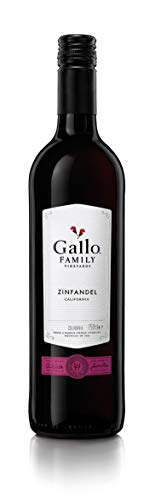 6x 0,75l - 2019er - E. & J. Gallo - Family Vineyards - Zinfandel - Kalifornien - Rotwein trocken