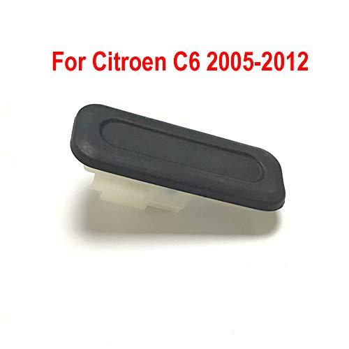 Autozubehör Heckklappe Griff Öffner Schalter Kofferraumschalter Heckklappe Kofferraum für Citroen C4 Picasso MK1 C2 C6 C5(X7) 3008 6490R3 (für Citroen C6 2005-2012)