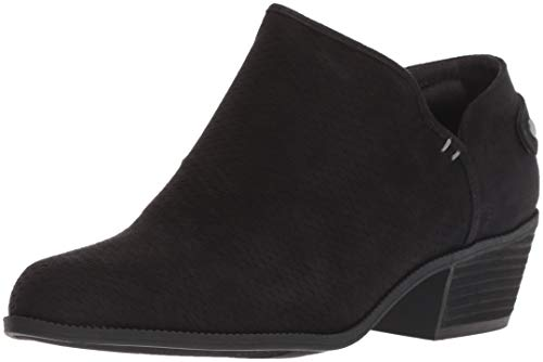 Dr. Scholls Shoes Womens Better Ankle Boot, Black Microfiber, 6 M US