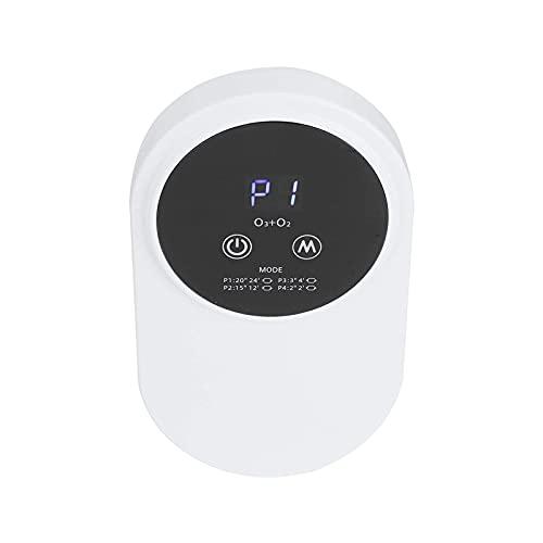 WGLL Filtro Purificatore d'Aria e casa con Auto Smart, Allergie, Polvere, Polline, Fumo e Odore, Bianco