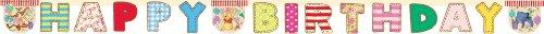 Girlande Winnie the Pooh Alphabet 2,4m