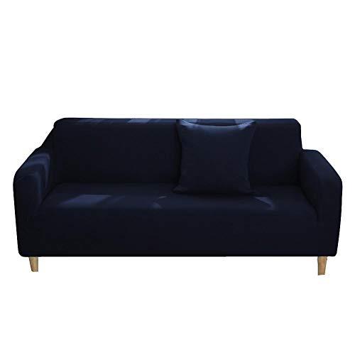 lossomly Funda de sofá elástica suave con espuma antideslizante y base elástica, para niños