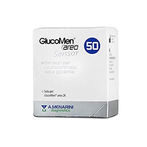 Menarini Glucomen Areo-Sensoren zur Glukoseanalyse 50 Stück