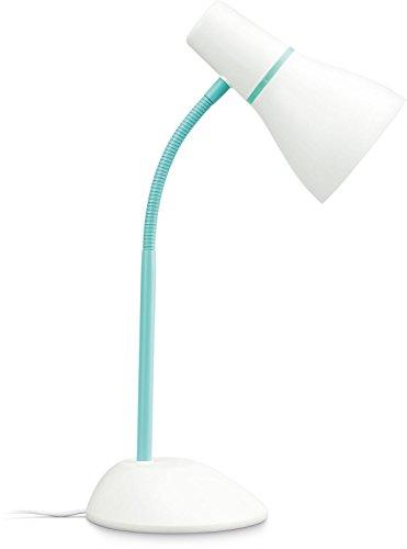 Philips myLiving Schreibtischleuchte Pear E27, weiß/grün