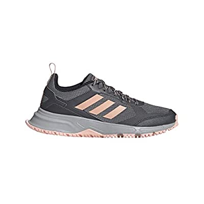 adidas Women's Rockadia Trail 3 Regular Fit Cloadfoam Running Sneakers Shoes, Grey, 9 M US