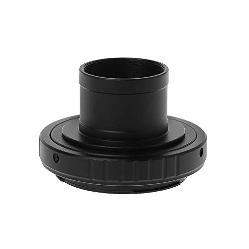 Catyrre M42X0.75 T - Adaptador de anillo para telescopio astronómico de 1,25' compatible con cámara Sony, color negro