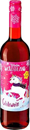 3 Flaschen Winter Wonderland Glühwein a 750ml 10% Vol. Einhorn-Glühwein